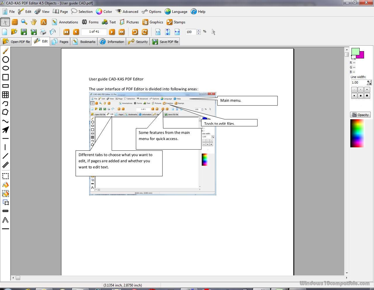 download cad kas pdf editor crack